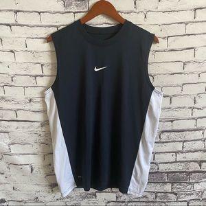 Nike Dri-Fit Center Swoosh Training Tank SZ M